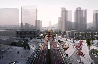 Awards<span>|</span>2nd Place, Shenyan Road Design Competition